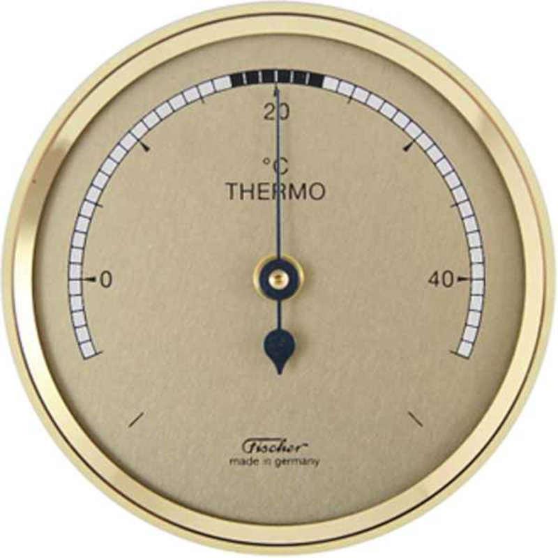 F 151 fischer thermom tre d int rieur petit diam tre 68mm - Thermometre interieur maison ...
