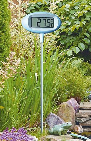 T302024 tfa thermom tre geant et design de jardin avec - Grand thermometre de jardin ...