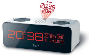 os rrm320 p oregon scientific radio r 233 veil radiopilot 233 avec temp 233 rature exterieure et projection