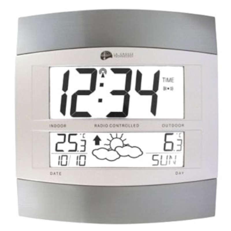 ws6158 it la crosse technology horloge et station m t o murale avec temp rature ext rieure sans. Black Bedroom Furniture Sets. Home Design Ideas